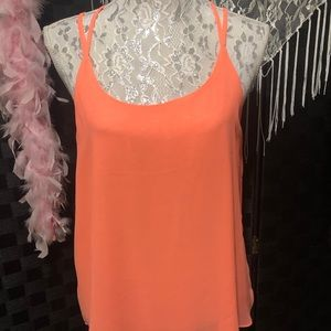 Mine 100% Polyester Neon Colored Tank